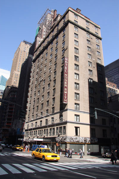 The Roger Smith Hotel in NYC - site of the Cookbook Conference