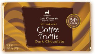 Lake Champlain Coffee Truffle Dark Chocolate Bar
