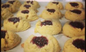 Broadway Baker's Lemon Raspberry Shortbread Cookies