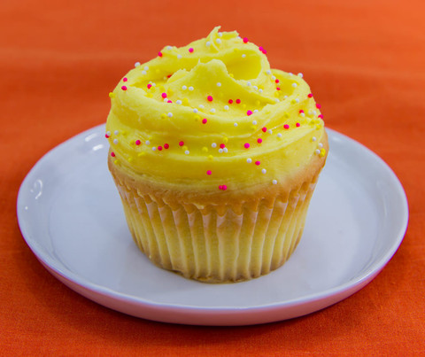 Buttercup Bake Shop's Lemon Cupcake
