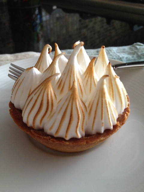 Mini Lemon Meringue Tart from Breads Bakery