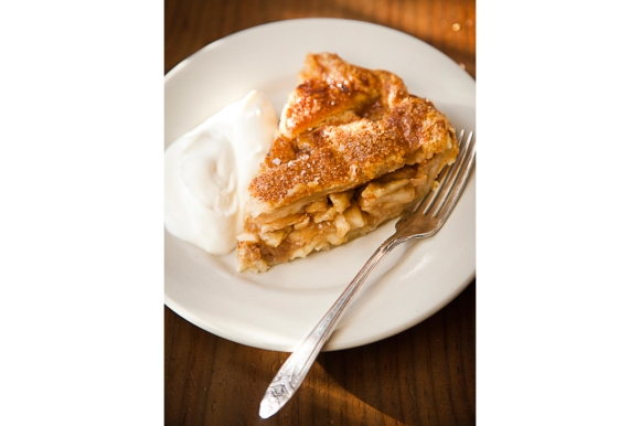 A Slice of Salted Caramel Apple Pie