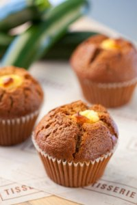 Tisserie's Zucchini Cream Cheese Muffins