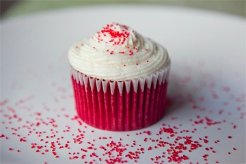 Red Velvet Cupcake from Bumblebee Bakeshop (San Francisco) - Photo Courtesy of Bumblebee Bakeshop