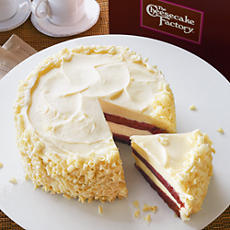 The Cheesecake Factory's Ultimate Red Velvet Cheesecake, Distributed by Harry & David - Photo as Seen On the Web Sites of Both Companies