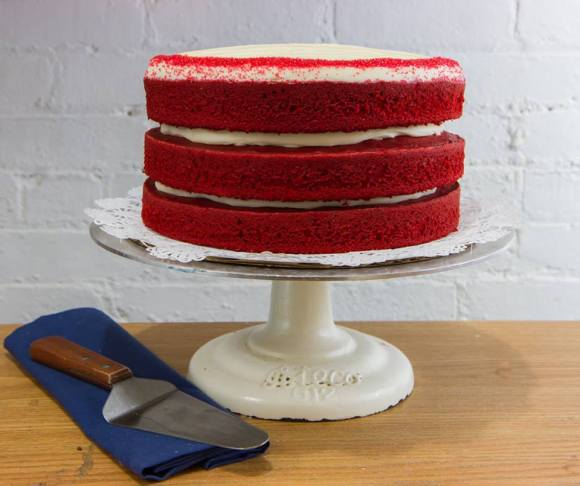 Red Velvet Cake from the Buttercup Bake Shop (NYC) - Photo Courtesy of the Buttercup Bake Shop