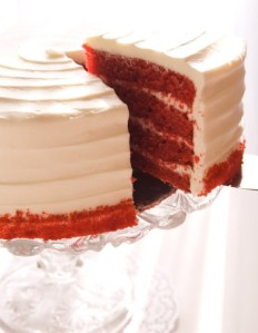 Red Velvet Cake from SusieCakes Bakeries (Northern and Southern California)  - Photo Courtesy of SusieCakes Bakeries