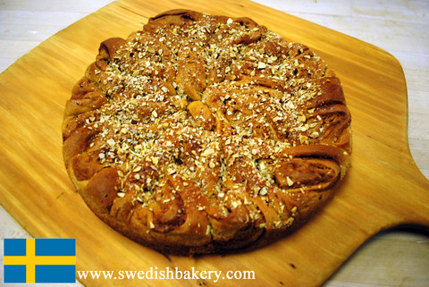 The Andersonville Coffee Cake from Swedish Bakery (Chicago, IL) - Photo Courtesy of the Swedish Bakery