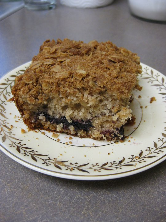 "The Sugar Cube's ""Crack Coffee Cake"" - Photo Courtesy of The Sugar Cube (Portland, OR)"