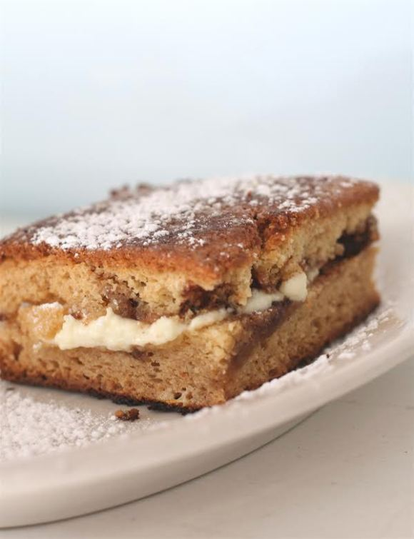 Grilled Coffee Cake from Southport Grocery and Café (Chicago, IL) - Photo Courtesy of Southport Grocery and Cafe