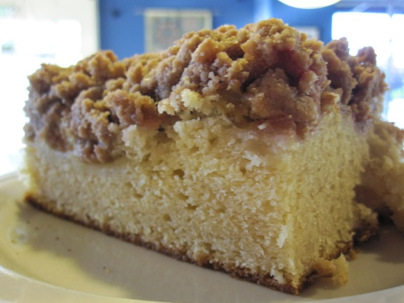 Sour Cream Coffee Cake from Jim & Patty's Coffee (Portland, OR) - Photo Courtesy of Jim & Patty's Coffee