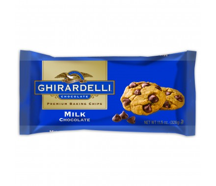Ghiradelli Milk Chocolate Chips - Photo Courtesy of Ghiradelli