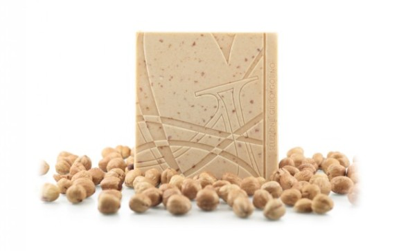 Guido Sobino's White Chocolate Bar with Crunchy Hazelnuts - Photo Courtesy of Guido Sobino (Italy)