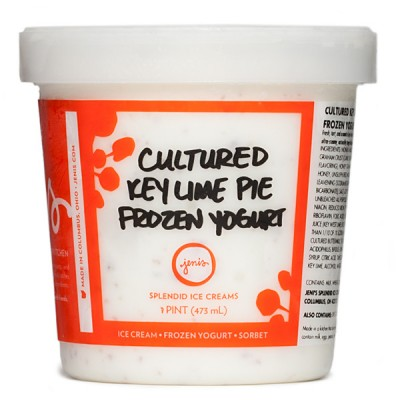 Jeni's Key Lime Pie Cultured Yogurt - Photo Courtesy of Jeni's (Columbus, OH)