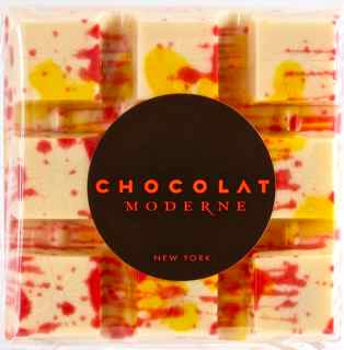 The Lover White Chocolate Bar from Chocolat Moderne - Photo Courtesy of Chocolat Moderne (NYC)