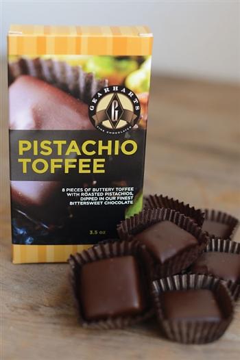 Pistachio Toffee from Gearharts Fine Chocolates - Photo Courtesy of Gearharts Fine Chocolates (Charlottesville, VA)