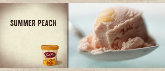 Graeter's Summer Peach Ice Cream - Photo Courtesy of Graeter's (Cincinnati, OH)