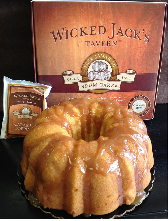 Wicked Jack's Tavern Rum Cake - Photo Courtesy of Wicked Jack's Tavern (Marietta, GA)