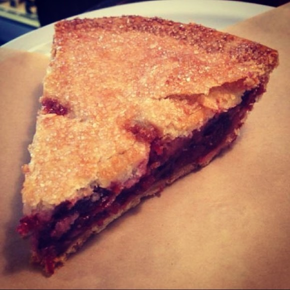 Cherry Almond Double Crust Pie from The Pie Hole - Photo Courtesy of The Pie Hole (Los Angeles)