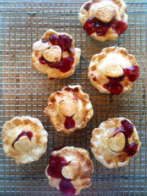 "Mini Cherry Pies (""Cutie Pies"") from Petsi Pies - Photo Courtesy of Petsi Pies (Somerville, MA)"