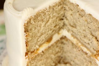 Banana Cake from Icing on the Cake Bakery - Photo Courtesy of Icing on the Cake Bakery (Los Gatos, CA)