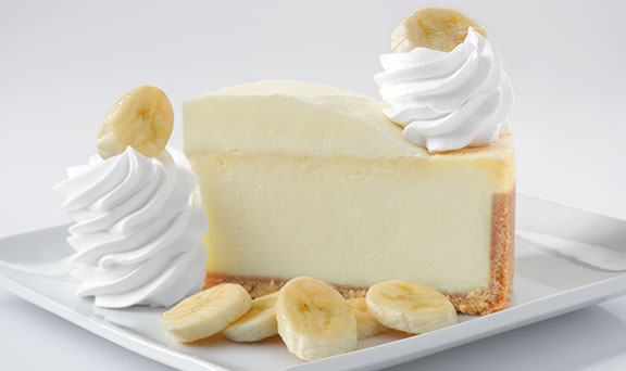 Banana Cream Cheesecake from the Cheesecake Factory - Photo Courtesy of The Cheesecake Factory