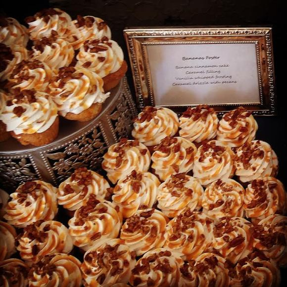 Bananas Foster Cupcakes from NoRA Cupcake Company - Photo Courtesy of NoRA Cupcake Company - Middletown, CT