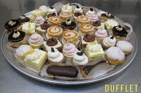 Eclairs and other Petit Fours from Dufflet Pastries - Photo Courtesy of Dufflet Pastries (Toronto)