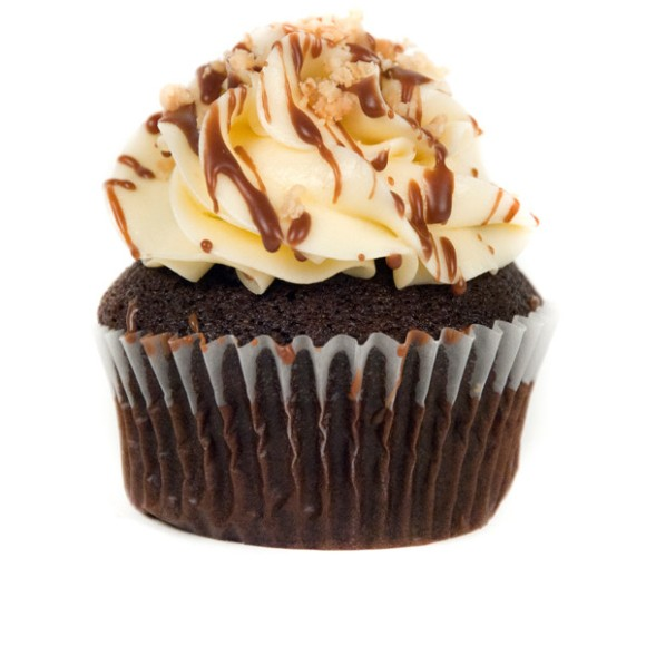 Chocolate Peanut Butter Banana Cupcake from For the Love of Cake - Photo Courtesy of For the Love of Cake (Toronto)