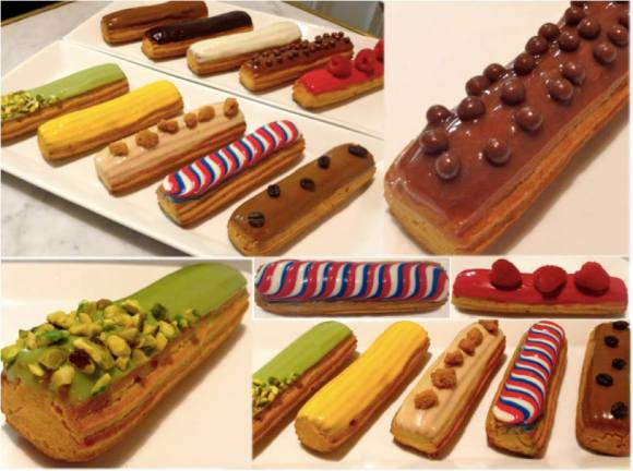 An assortment of special Eclairs from Maison Kayser - Photo Courtesy of Maison Kayser (NYC)