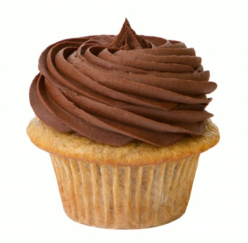 Banana Chocolate Cupcake from Prairie Girl Bakery - Photo Courtesy of Prairie Girl Bakery (Toronto)