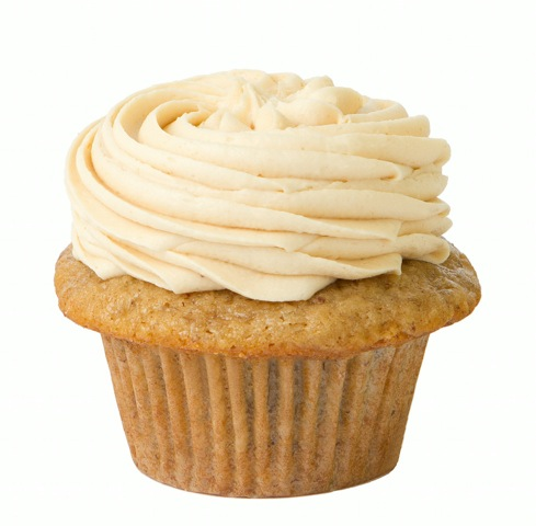 Banana Peanut Butter Cupcake from Prairie Girl Bakery - Photo Courtesy of Prairie Girl Bakery (Toronto)