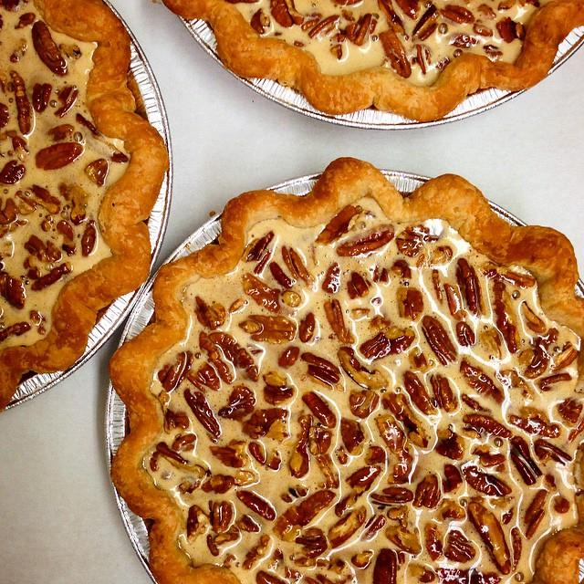 Chocolate Espresso Pecan Pie Recipe — Dishmaps