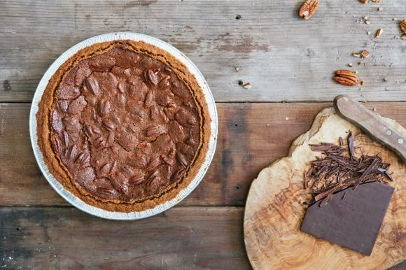 Chocolate Pecan Pie from Three Babes Bakeshop (San Francisco, CA) - Photo Courtesy of Colin Price and Three Babes Bakeshop