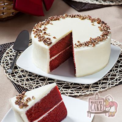 Red Velvet Cake from Make My Cake - Photo Courtesy of Make My Cake (NYC)