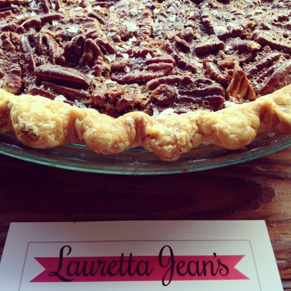 Salted Georgia Pecan Pie from Lauretta Jean's Pie Bakery - Photo Courtesy of Lauretta Jean's Pie Bakery (Portland, OR)