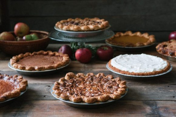 A Display of Pies from the Three Babes Bakeshop (San Francisco, CA) - Photo Courtesy of Colin Price and the Three Babes Bakeshop