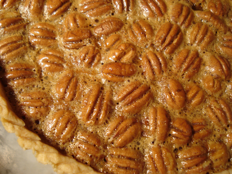 Rose's Pecan Pie (Baked i a Tart Pan) - Photo Courtesy of Ben Fink and the Real Baking with Rose Web Site