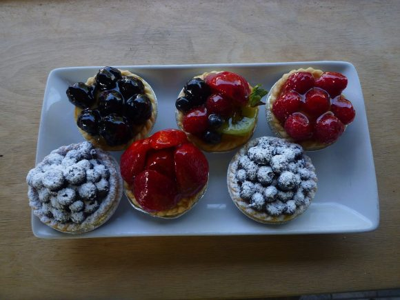 Small Pastries from Wanda's Pie in the Sky - Photo Courtesy of Wanda's Pie in the Sky (Toronto)
