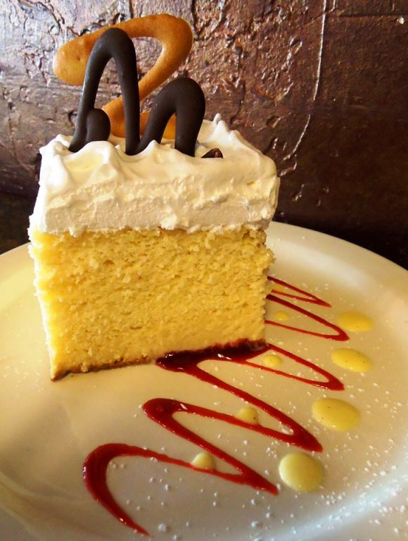 A Slice of Tres Leches Cake from Ruggles Cafe Bakery - Photo Courtesy of Ruggles Cafe Bakery (Houston)