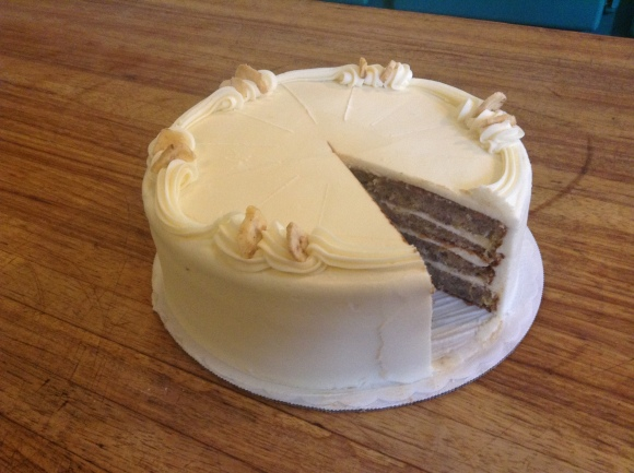 Banana Cake from Piece of Cake Bakery - Photo Courtesy of Piece of  Cake Bakery (Portland, OR)