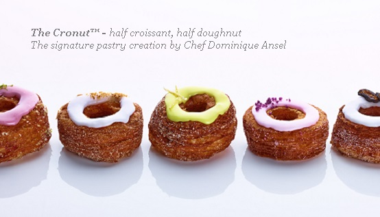 Dominique Ansel's Cronut - Photo Courtesy of Dominique Ansel (NYC)