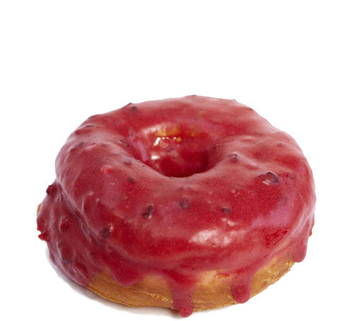 Dough's Mixed Berry Doughnut - Photo Courtesy of Dough (NYC)