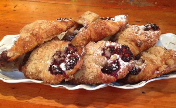 Blackberry Turnovers with Brown Butter - Photo Courtesy of HotChocolate Restaurant & Dessert Bar