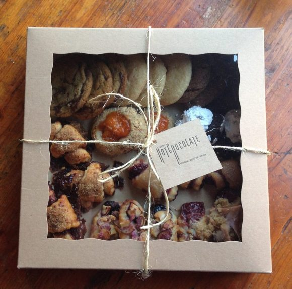 Box of Cookies - Photo Courtesy of HotChocolate Restaurant and Dessert Bar (Chicago)