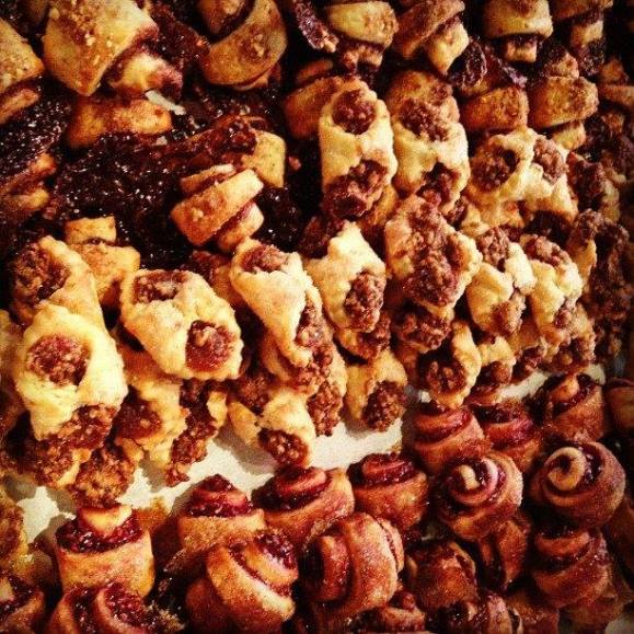 Fresh baked rugelach - Photo Courtesy of HotChocolate Restaurant & Dessert Bar (Chicago)