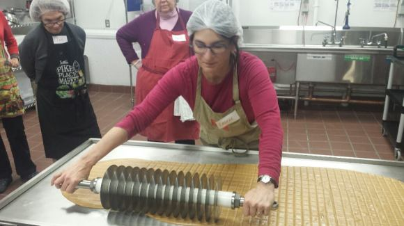 Making Laurie & Son's Toffee - Photo Courtesy of Laurie & Sons (NYC)