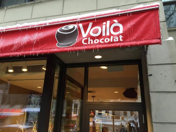 The Voila Chocolat Store - Photo Courtesy of Voila (NYC)