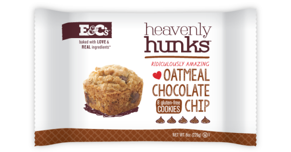Oatmeal Chocolate Chip Hunks - Photo Courtesy of E&C's Snacks (Eden Prairie, MN)