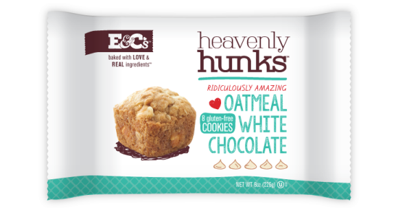 Oatmeal White Chocolate Hunks from E&C's Snacks - Photo Courtesy of E&C's Snacks (Eden Prairie, MN)
